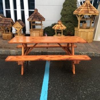 MM-9 6' Cedar Picnic Table $370