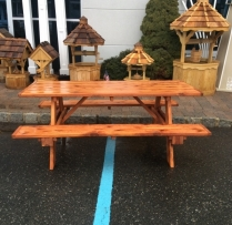 MM-9 6' Cedar Picnic Table $370