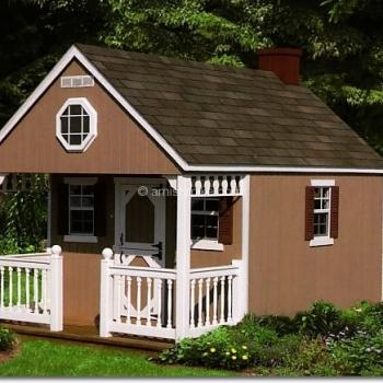 8' x' 12 Backyard Cabin