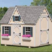 6' x 8' Victorian Playhouse