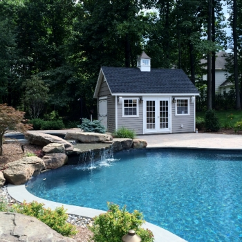 Custom Pool House- Classic Series Manor A Model