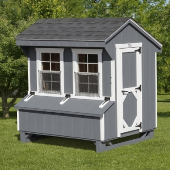 Dark Grey, White Trim, Charcoal Shingles