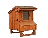 4' x 4' Quaker BB Cedar Coop
