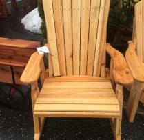 AV-AR Cedar Adirondack Rocker $350
