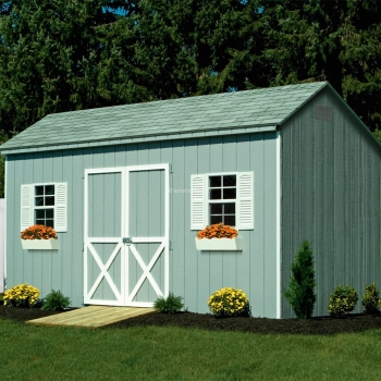 10' x 16'  Saltbox Shed