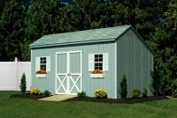 10' x 16' Sig Saltbox Shed