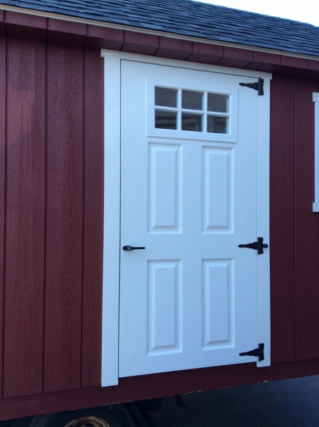 Fiberglass Shed Doors : Shed options and specifications amish mike sheds
