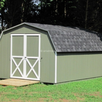 10' x 14' Traditional Mini Barn