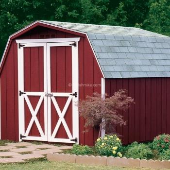 8' x 10' Traditional Mini Barn