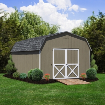 Traditional 6' Wall Barn 12x20