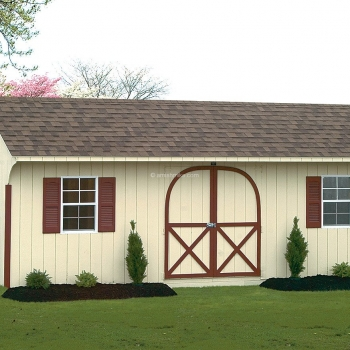 12' x 24' Almond Signature Quaker Shed