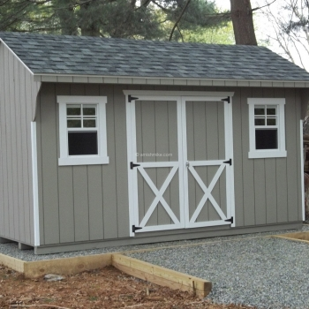 10' x 14' Signature Clay Quaker Shed