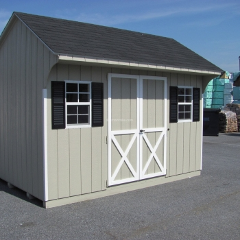 10' x 12' Signature Quaker Shed