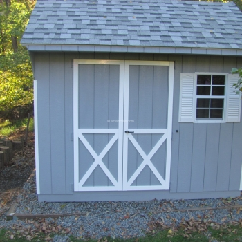 8' x 10' Signature Quaker Shed