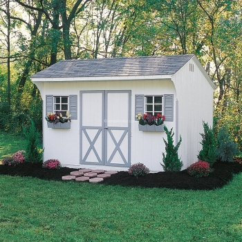 10' x 14' Lanco Quaker Shed