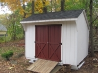 10x10 Traditional Quaker WIth Ramp Option