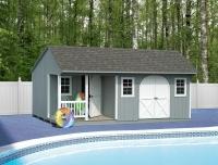 12' x 20' Pool House