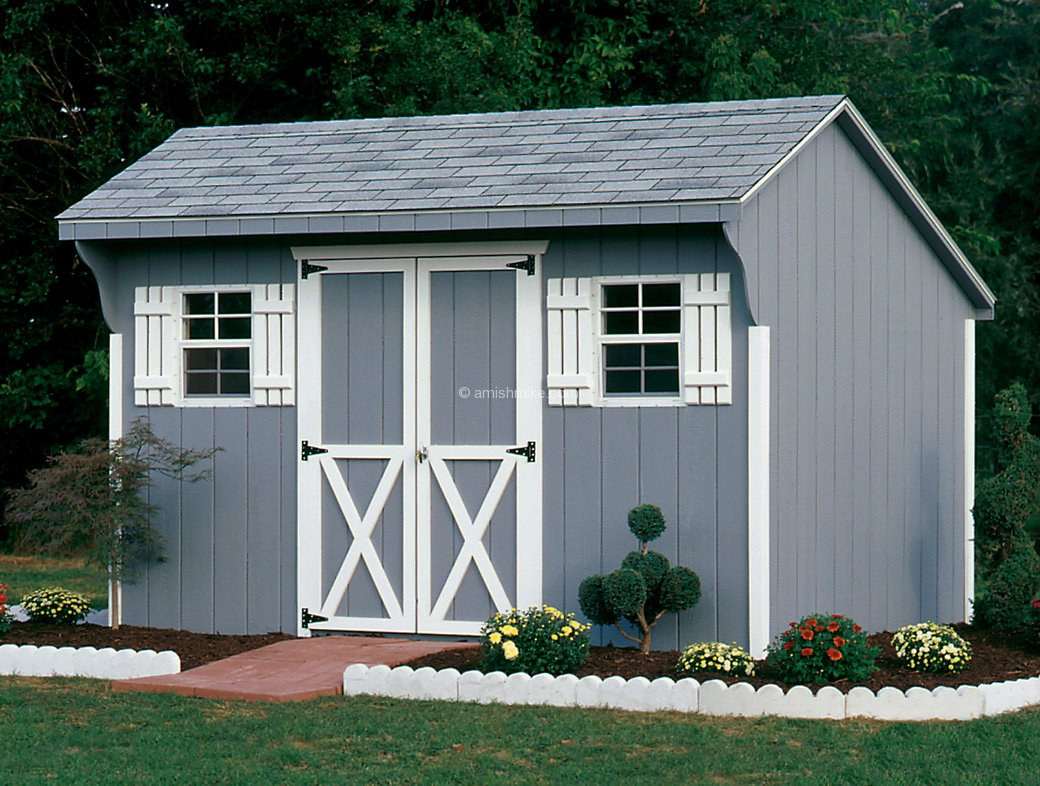 Traditional Series Quaker Sheds Amish Mike Amish Sheds