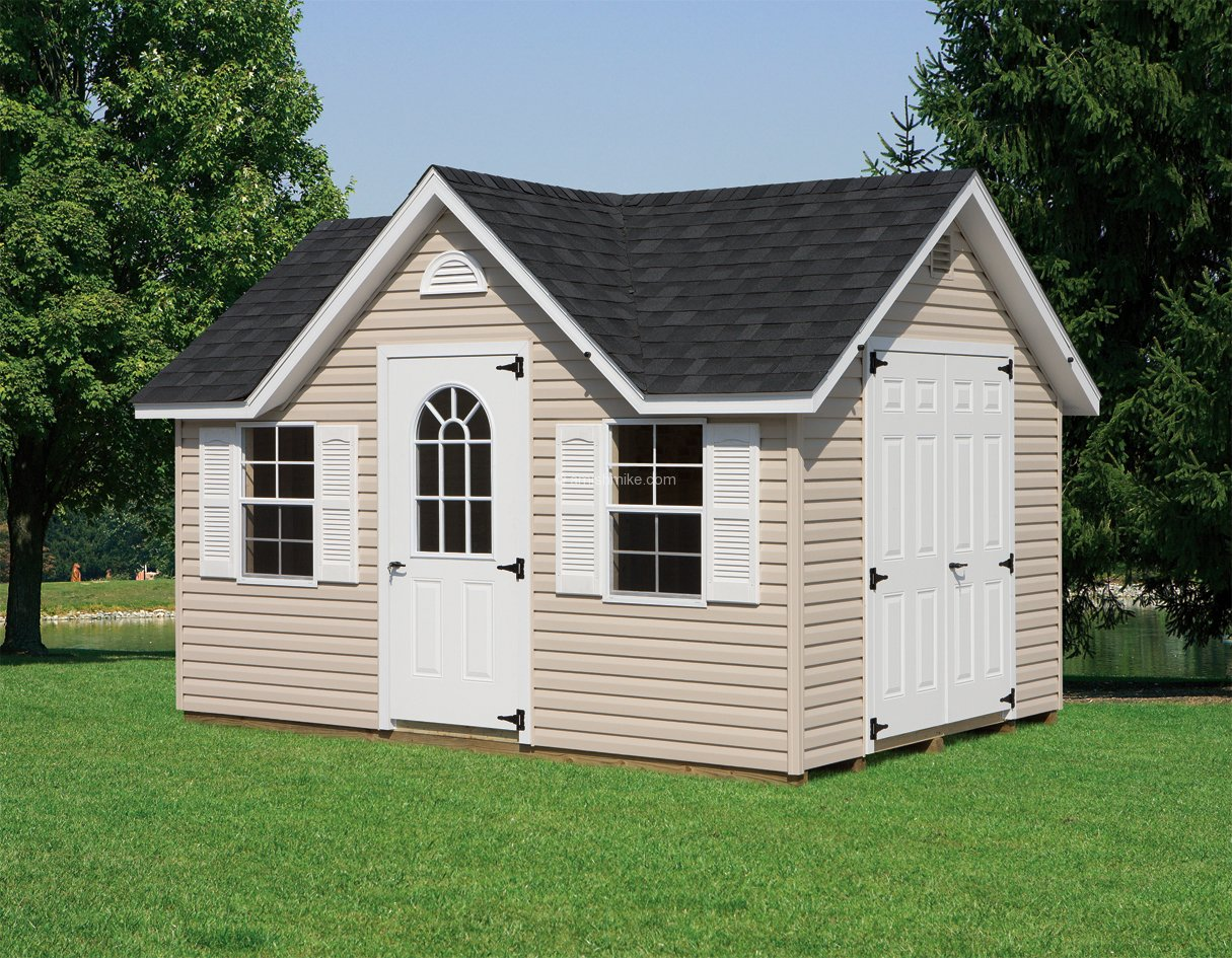 Traditional series colonial sheds amish mike amish for Outbuildings and sheds