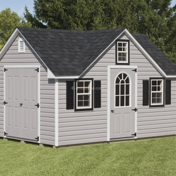 10' x 14' Gray Signature Shed