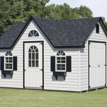10' x 14' White Signature Shed