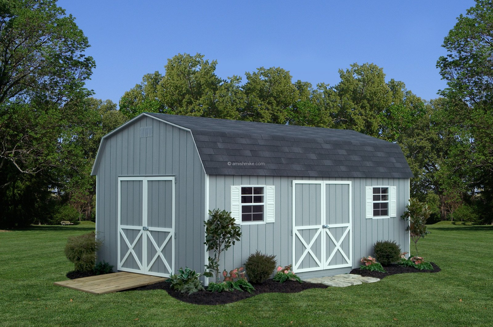 Traditional series dutch sheds amish mike amish sheds for Sheds and barns