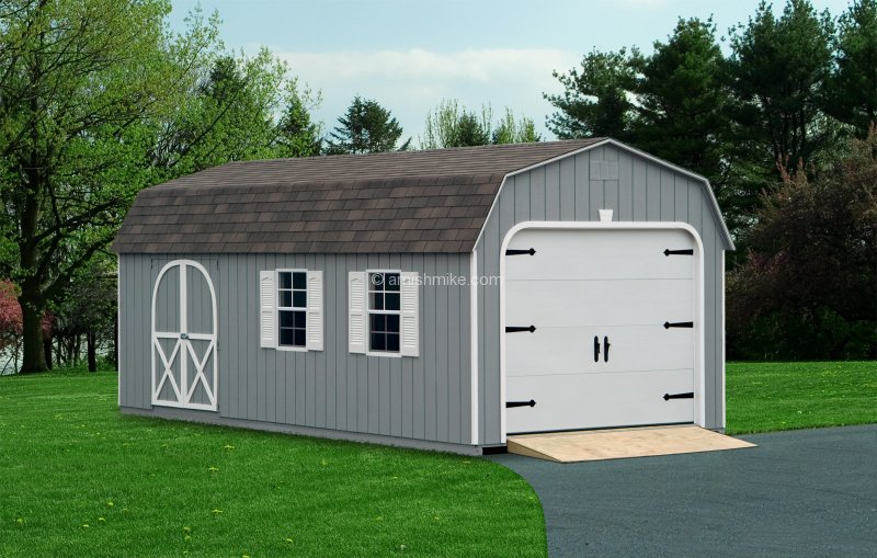 Amish Sheds And Garages : Traditional garages amish mike sheds barns