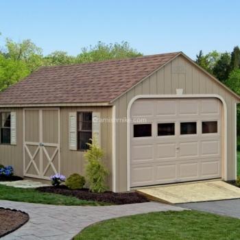 12' x 20' Garage Cape Cod