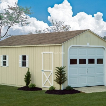 12' x 24' Garage A-Frame