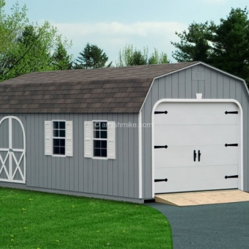 Dutch Gray Garage