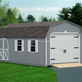 Dutch Gray Garage