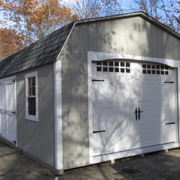 14 x 24 dutch garage with options