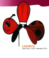Ladybug Spinner