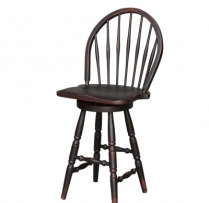 HB-36-L Round Swivel Counter Stool 15wx30h
