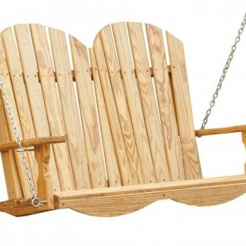 JWC Adirondack Hanging Swing 4' $370