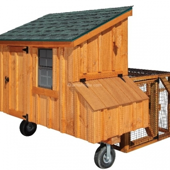 3' x 5' Lean To Tractor BB Cedar