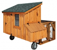 3' x 5' Lean To Tractor BB Cedar