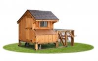 4' x 4' Quaker Tractor bb Cedar Chicken Coop