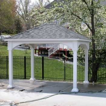 10' x 12' Traditional Vinyl Pavilion