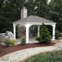 12x16 Vinyl Traditional Pavilion