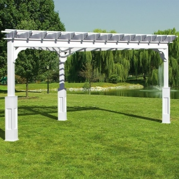 Pergola Traditional Vinyl 15' Triangle