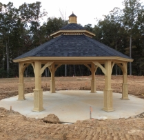 25' Custom Hexagon Gazebo