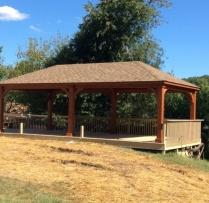 14x24 Traditional Pavilion