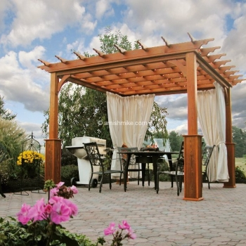 Pergola Traditional Wood 10' x 10'