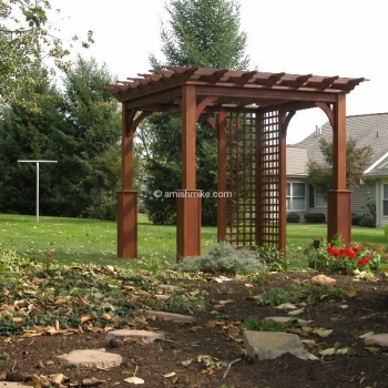 Pergola Traditional Wood 8' x 8'