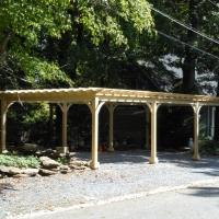 16x32 Traditional Wood Pergola