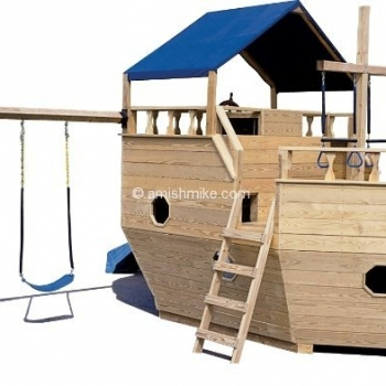 Small Boat with Swingset Playset $2,475.00