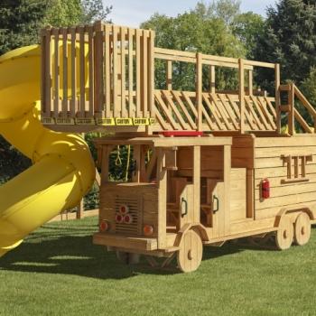 1500 Ladder Fire Truck $5025