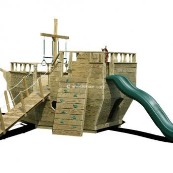 Small Ship with Wall Playset $2,410.00