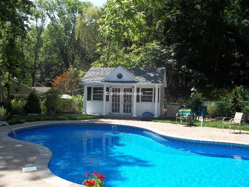 Victorian Pool House